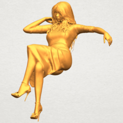 Naked Girl I01 STL file, Miketon