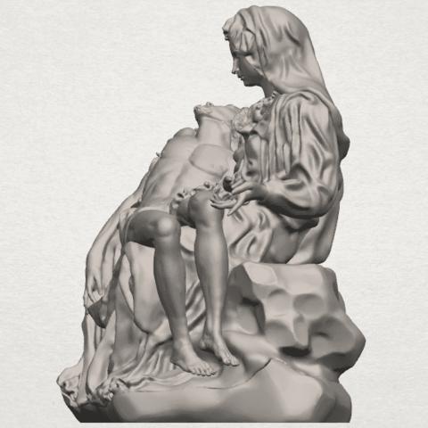 TDA0238 La Pieta A03.png Télécharger fichier STL gratuit La Pieta • Modèle pour impression 3D, GeorgesNikkei