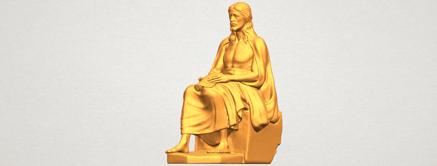 A10.png Download free STL file Jesus 06 • 3D printer object, GeorgesNikkei