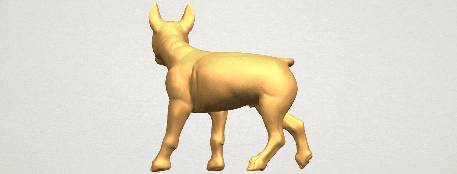 TDA0523 Bull Dog 04 A05.png Download free STL file Bull Dog 04 • 3D print design, GeorgesNikkei