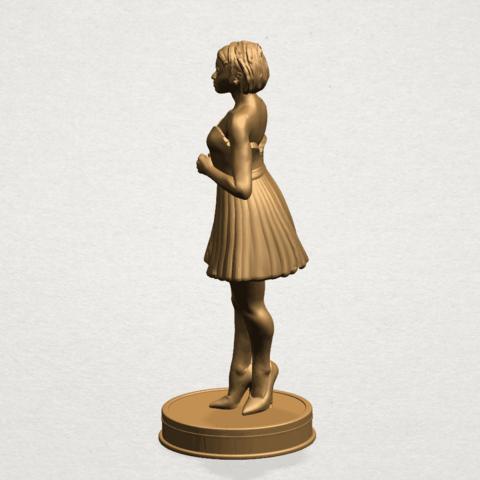 Standing girl- B02.png Download free STL file Standing girl • 3D printer design, GeorgesNikkei