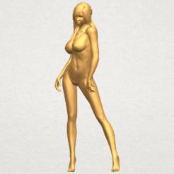 Modèle 3D Fille nue 24, Miketon