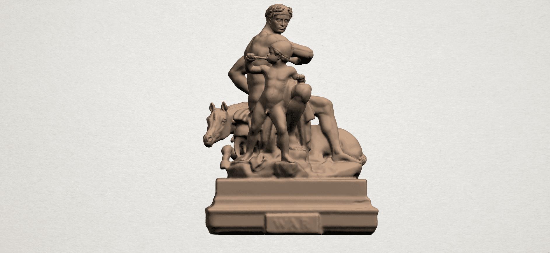 Father and Son (ii) A01.png Télécharger fichier STL gratuit Père et Fils 02 • Plan à imprimer en 3D, GeorgesNikkei