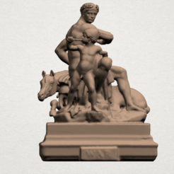Father and Son (ii) A01.png Download free STL file Father and Son 02 • 3D printing design, GeorgesNikkei