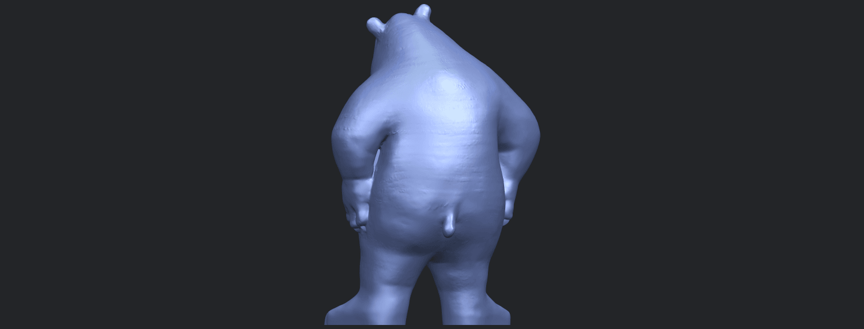 14_TDA0561_Bear_SeniorB06.png Télécharger fichier STL gratuit Bear Senior • Plan imprimable en 3D, GeorgesNikkei