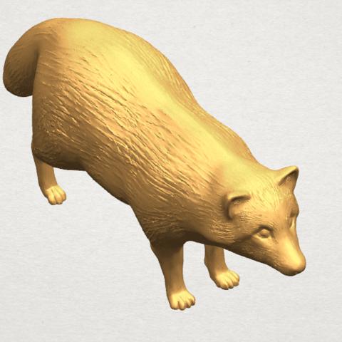 TDA0601 Fox A07.png Download free STL file Fox • 3D printer model, GeorgesNikkei