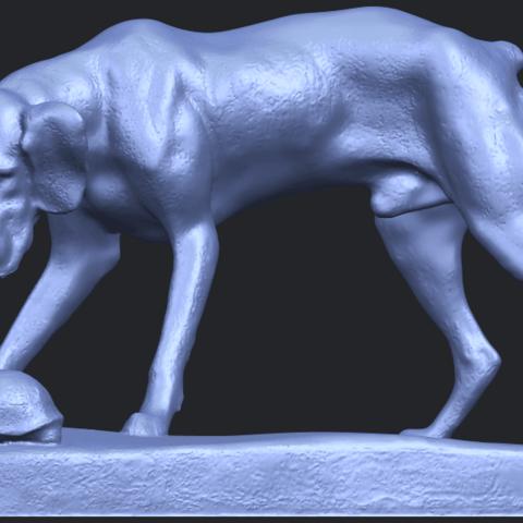 11_Dog_i_62mmB06.png Télécharger fichier STL gratuit Chien 01 • Plan pour impression 3D, GeorgesNikkei