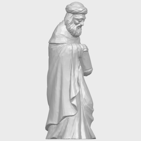 26_Sculpture_of_Arabian_88mm-A09.png Download free STL file Sculpture of Arabian • 3D print template, GeorgesNikkei