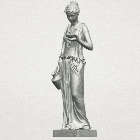 TDA0251 Beautiful Girl (iii) A02.png Download free STL file Beautiful Girl 03 • 3D print template, GeorgesNikkei