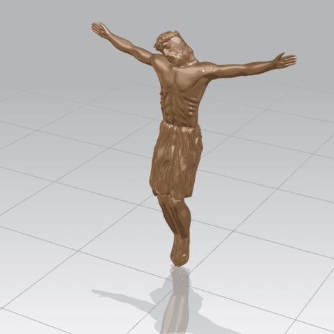 TDA0230 Jesus (iii) A01.png Download free STL file Jesus 03 • 3D printable template, GeorgesNikkei