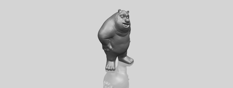 14_TDA0561_Bear_SeniorA00-1.png Télécharger fichier STL gratuit Bear Senior • Plan imprimable en 3D, GeorgesNikkei