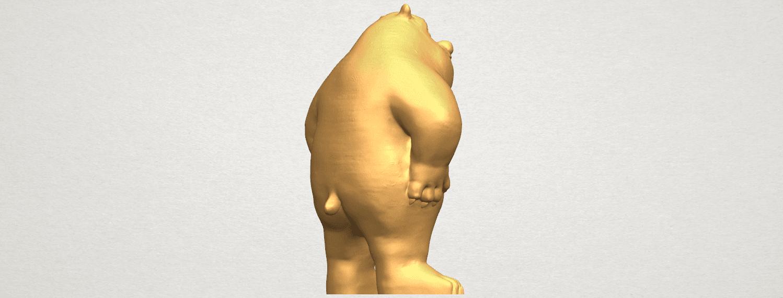 TDA0561 Bear Senior A05.png Télécharger fichier STL gratuit Bear Senior • Plan imprimable en 3D, GeorgesNikkei