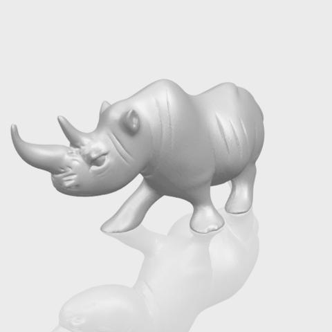 TDA0310_Rhinoceros_iiA00-1.png Download free STL file Rhinoceros 02 • 3D printing model, GeorgesNikkei
