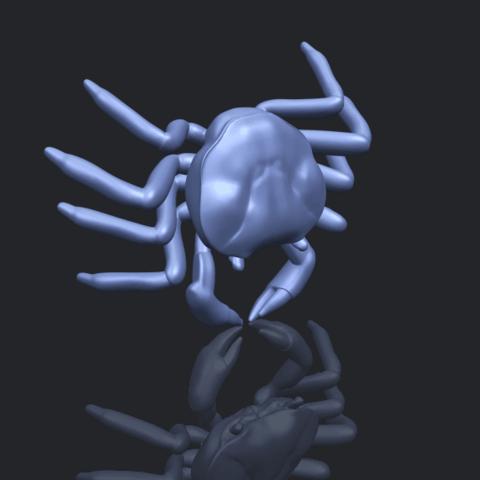 21_TDA0612_CrabB00-1.png Télécharger fichier STL gratuit Crabe • Objet pour imprimante 3D, GeorgesNikkei