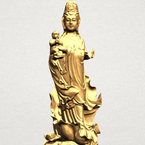 Avalokitesvara Buddha  award kid (i) A10.png Download free STL file Avalokitesvara Bodhisattva - award kid 01 • 3D print object, GeorgesNikkei