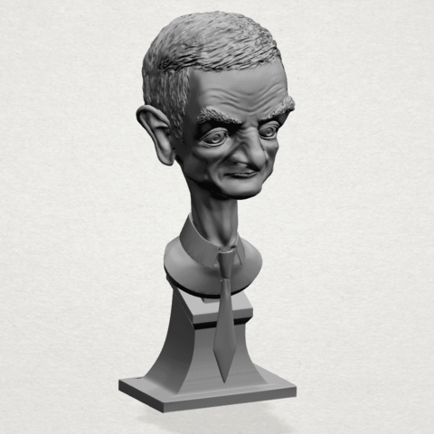 Sculpture of a man - A01.png Download free STL file Sculpture of a man 01 • 3D printable object, GeorgesNikkei