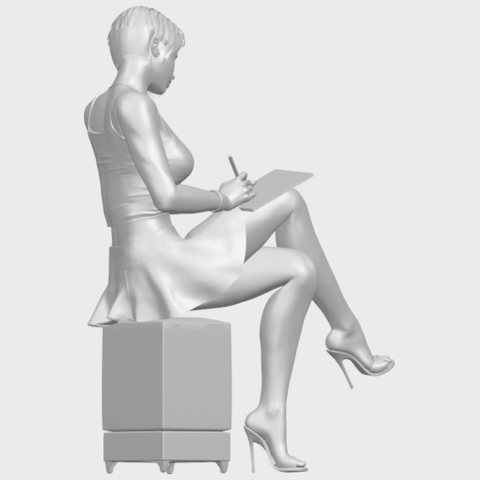 19_TDA0471_Beautiful_Girl_05_A08.png Download free STL file Beautiful Girl 05 • 3D printing template, GeorgesNikkei