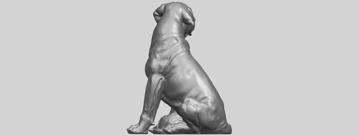 02_TDA0526_Dog_and_PuppyA09.png Download free STL file Dog and Puppy 01 • Model to 3D print, GeorgesNikkei