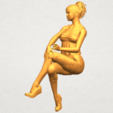 A06.png Download free STL file Naked Girl H06 • Object to 3D print, GeorgesNikkei
