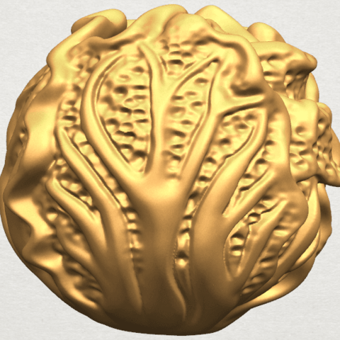 TDA0496 Cabbage A06.png Download free STL file Cabbage • 3D printer model, GeorgesNikkei