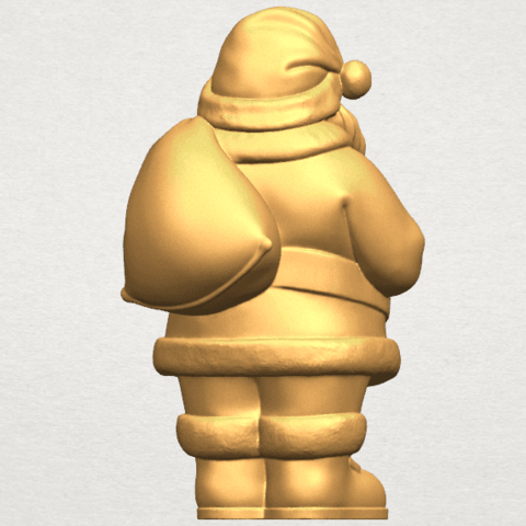 TDA0579 Santa Claus A06.png Download free STL file Santa Claus • Object to 3D print, GeorgesNikkei
