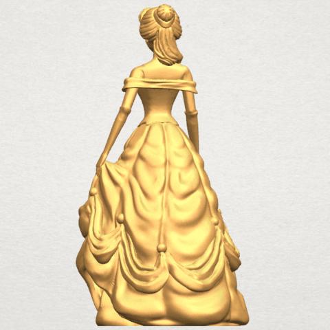 TDA0578 Princess Belle A05.png Télécharger fichier STL gratuit Princesse Belle • Modèle pour impression 3D, GeorgesNikkei