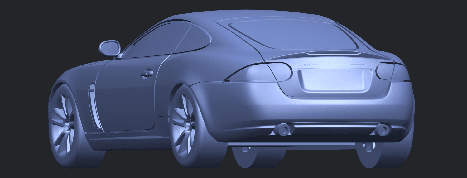 TDB003_1-50 ALLA03.png Download free STL file Jaguar X150 Coupe Cabriolet 2005 • 3D printing template, GeorgesNikkei