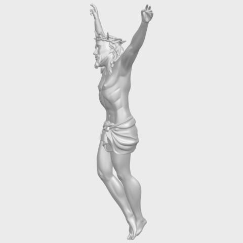 05_TDA0231_Jesus_(ii)_88mmA03.png Download free STL file Jesus 02 • 3D printing template, GeorgesNikkei