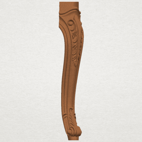 TDA0453 Table Leg (ii) A05.png Download free STL file Table Leg 02 • 3D print template, GeorgesNikkei
