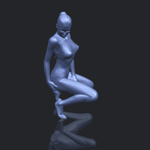 15_TDA0634_Naked_Girl_D04B00-1.png Download free STL file Naked Girl D04 • 3D printable template, GeorgesNikkei