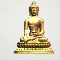 Download free STL files Thai Buddha 03, GeorgesNikkei