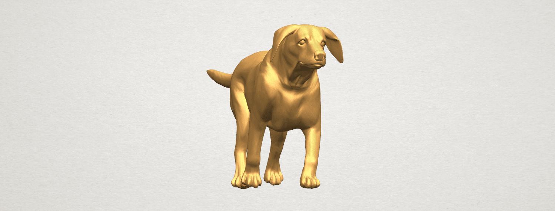TDA0527 Dog 01 A03.png Download free STL file Dog 01 • 3D printer template, GeorgesNikkei