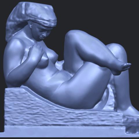 20_TDA0170_Naked_Girl_(xiii)_88mmB01.png Download free STL file Naked Girl 13 • 3D print design, GeorgesNikkei