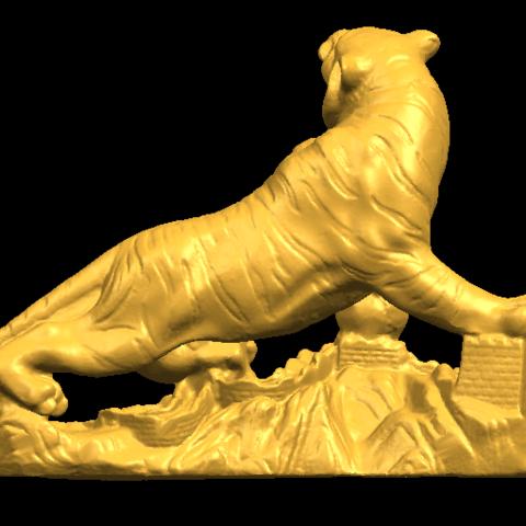 08.png Télécharger fichier STL gratuit Tigre de Sibérie • Objet imprimable en 3D, GeorgesNikkei