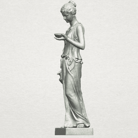 TDA0251 Beautiful Girl (iii) A03.png Download free STL file Beautiful Girl 03 • 3D print template, GeorgesNikkei