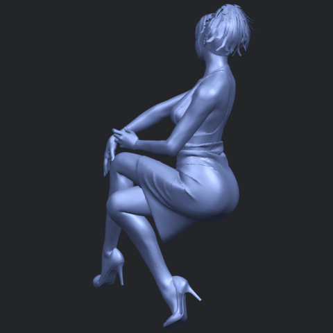 16_TDA0666_Naked_Girl_H04B08.png Download free STL file Naked Girl H04 • 3D printing object, GeorgesNikkei