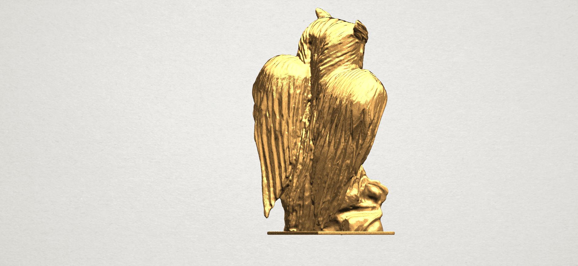 Owl (ii) A05.png Télécharger fichier STL gratuit Hibou 02 • Plan pour imprimante 3D, GeorgesNikkei