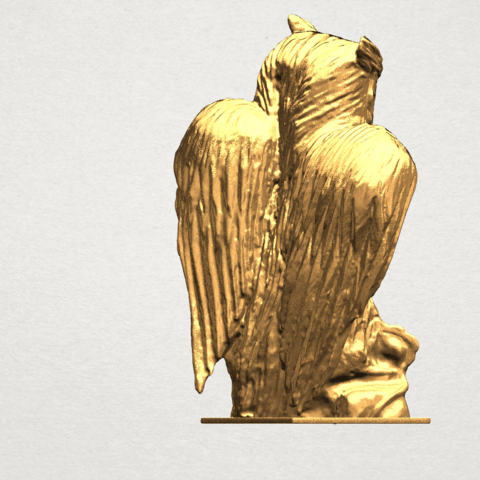 Owl (ii) A05.png Download free STL file Owl 02 • 3D printer object, GeorgesNikkei