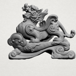 Free 3d printer model Chinese mythical creature - Pi Xiu 01, GeorgesNikkei