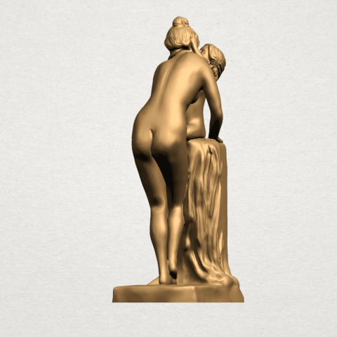 Mother-Child (i) A07.png Download free STL file Mother and Child 01 • 3D printing design, GeorgesNikkei