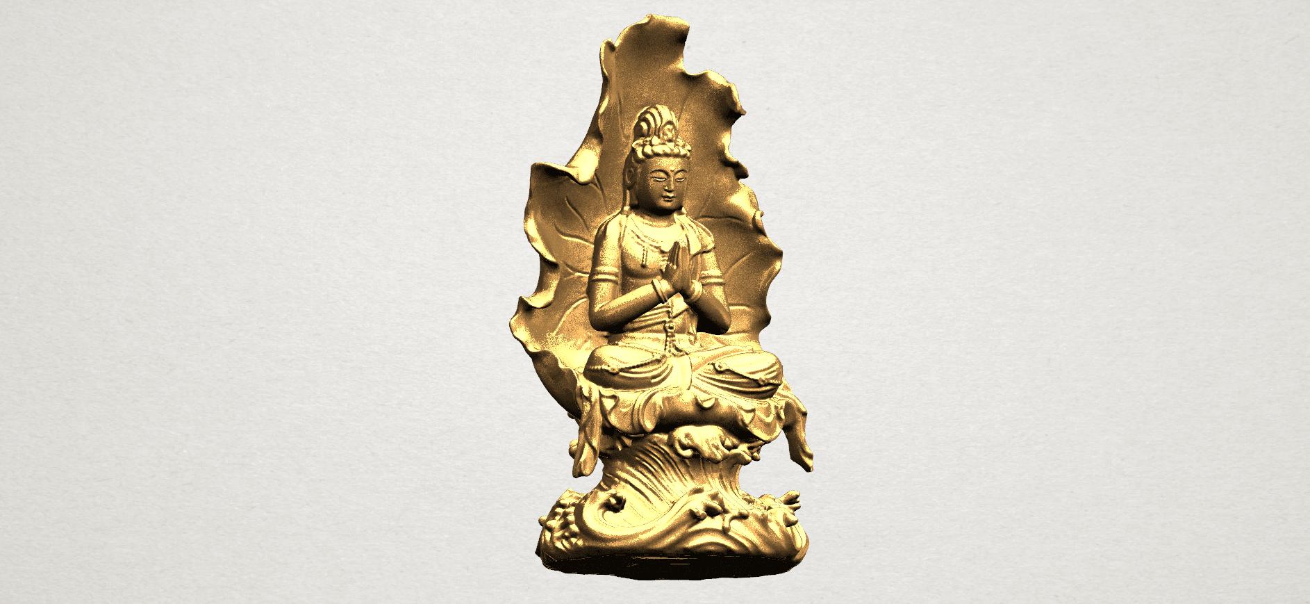 Avalokitesvara Buddha (with Lotus Leave) (ii) A11.png Download free STL file Avalokitesvara Buddha (with Lotus Leave) 02 • Model to 3D print, GeorgesNikkei