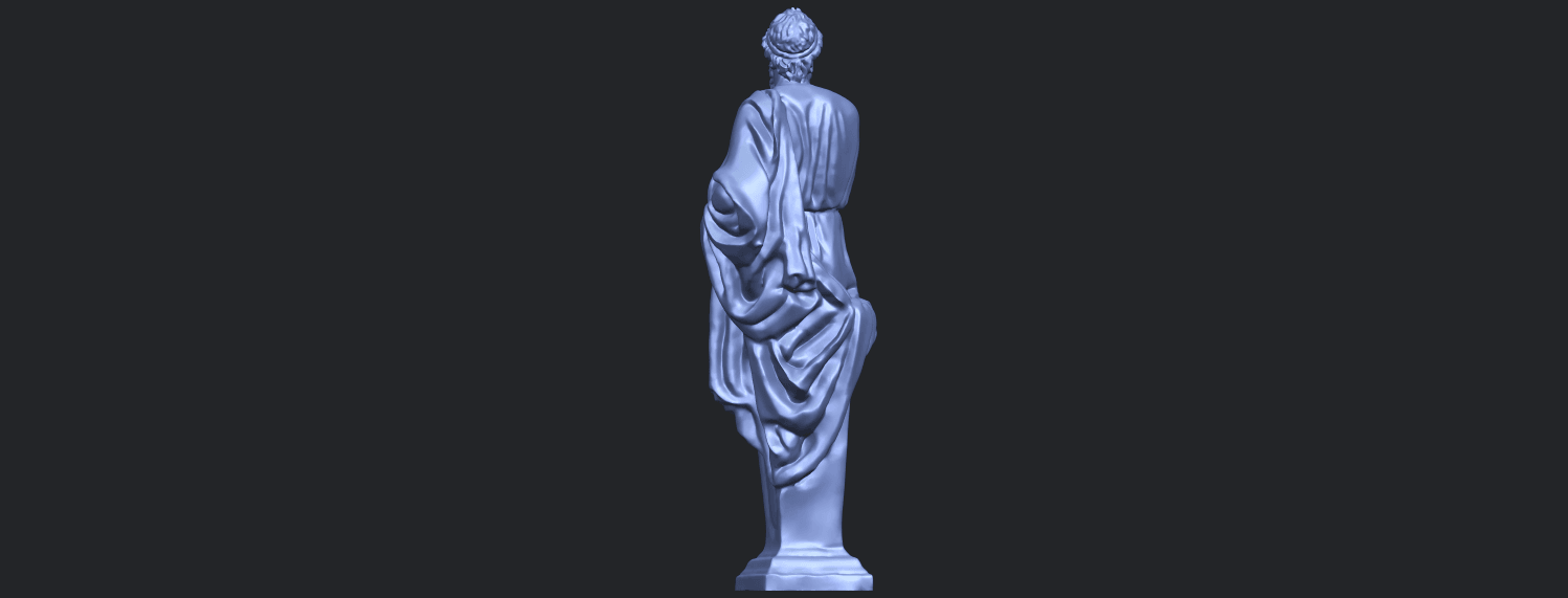06_TDA0460_Plato_ex1900B06.png Download free STL file Plato • 3D printing template, GeorgesNikkei