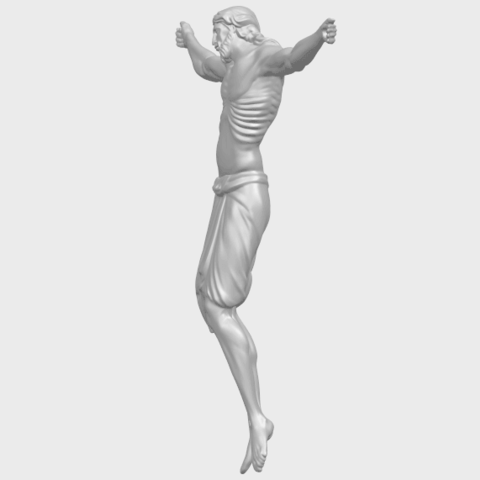 17_TDA0233_Jesus_iv_88mmA03.png Download free STL file Jesus 04 • Template to 3D print, GeorgesNikkei