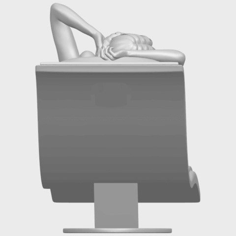 TDA0743_Sexy_Girl_13-Lye_on_ChairA09.png Download free STL file Sexy Girl 13 - Lye on Chair • 3D printer design, GeorgesNikkei