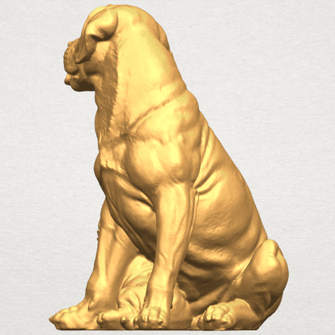 TDA0526 Dog and Puppy A06.png Download free STL file Dog and Puppy 01 • Model to 3D print, GeorgesNikkei