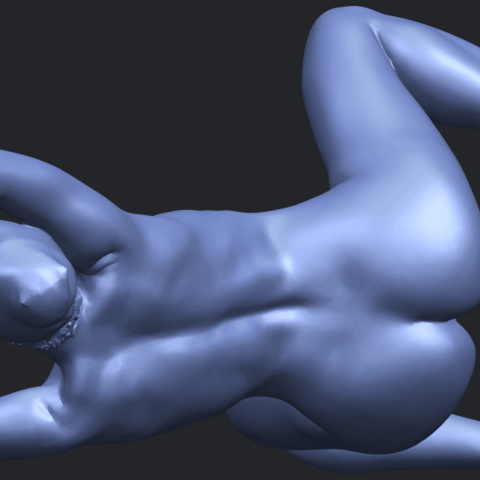 18_TDA0280_Naked_Girl_A07B08.png Download free STL file Naked Girl A07 • 3D printable template, GeorgesNikkei