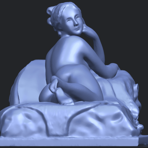 11_Naked_Girl_Lying_on_Bed_i_60mmB09.png Download free STL file Naked Girl - Lying on Bed 01 • 3D printable object, GeorgesNikkei