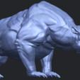 15_TDA0744_Bear_02B07.png Télécharger fichier STL gratuit Ours 02 • Plan à imprimer en 3D, GeorgesNikkei