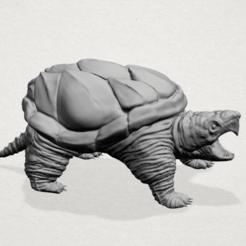 Free 3D printer files Giant tortoise, GeorgesNikkei