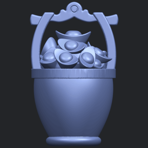 13_TDA0502_Gold_in_BucketB01.png Download free STL file Gold in Bucket • 3D print object, GeorgesNikkei